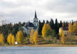 Kuva Ruokolahden kirkosta.