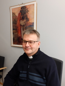 Kuva kappalainen Timo Kälviäisestä.